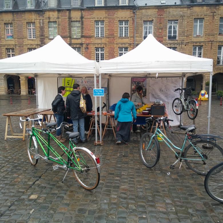 Stand Ma Ville A Vélo 08 Journée de l'environnement 1er avril 2017