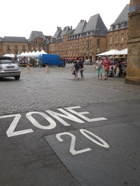 Zone de rencontre - Ma Ville à Vélo 08 Ardennes